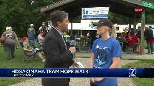 Omaha Team Hope walk to fight Huntington's Disease [Video]