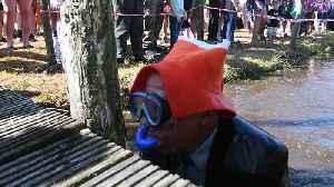 Bonkers Bank Holiday Bog Snorkelling
