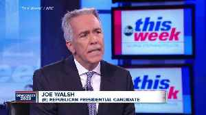 News video: Joe Walsh to take on Trump in 2020 Republican primary