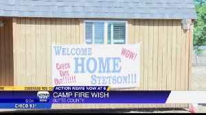 Camp Fire survivor gets new home [Video]