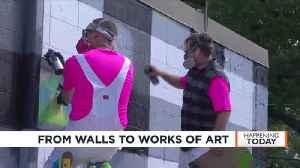 Dozens of street artists turn drab parts of Monona, Madison into works of art [Video]