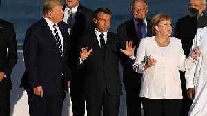 Macron: G7 'close to deal' on Amazon fires on final day of talks in Biarritz