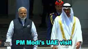 PM Modi's visit to UAE [Video]