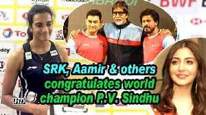 News video: SRK, Aamir congratulates world champion P.V. Sindhu