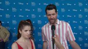 D23 Expo 2019: Anna Kendrick And Billy Eichner [Video]