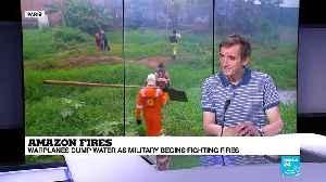 Amazon rainforest fires - Hervé Théry tells us about international cooperation [Video]