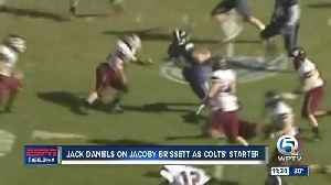Jack Daniels on Jacoby Brissett being named Colts starting QB [Video]