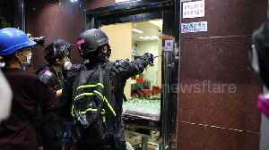 Hong Kong protesters destroy property they believe belong to triad gangsters [Video]