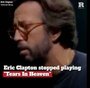 """Eric Clapton Stopped Playing """"Tears in Heaven"""", Here's Why [Video]"""