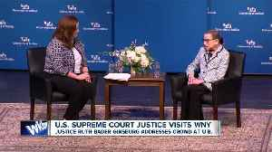 Ginsburg in WNY [Video]