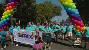 Big Tech Firms Tout Inclusion, Diversity At Silicon Valley Pride [Video]
