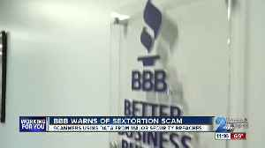 BBB warns about sextortion scam [Video]