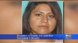 Woman Accused In Deadly Hit-And-Run Arrested In Mexico [Video]