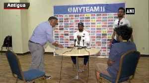 Ind vs WI Team's support helps to express myself, says Hanuma Vihari [Video]