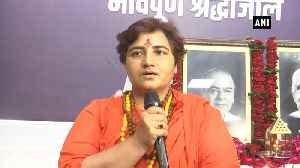 Watch: Sadhvi Pragya blames opposition sorcery for BJP leaders' deaths [Video]