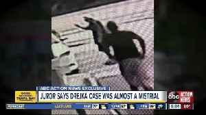 Juror says Drejka case was almost a mistrial [Video]