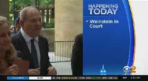 News video: Harvey Weinstein Due Back In Court