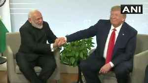 PM Modi meets Trump, says 'all issues between India-Pakistan are bilateral' [Video]