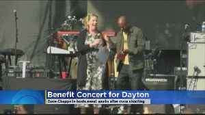 Comedian Dave Chappelle Hosts Concert For Dayton, Ohio Victims [Video]