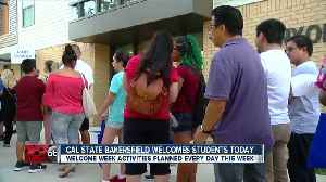 CSUB welcomes students back with a 'Week of Welcome' [Video]
