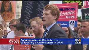 News video: Congressman Joe Kennedy III Is Considering A Run For Senate In 2020