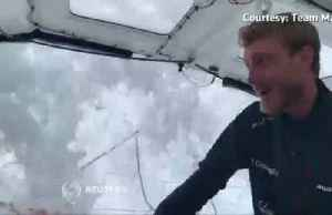 'It's very rough, very high waves' - Thunberg posts update on zero-carbon transatlantic sail [Video]