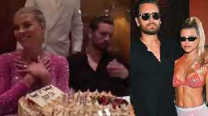 News video: Scott Disick Looks MISERABLE During Sofia Richie's HUGE 21st Birthday Vegas Bash!