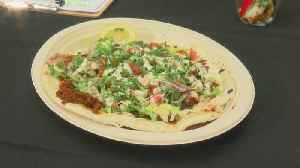 New Food At The Fair: Turkish Pizza [Video]