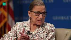 Ruth Bader Ginsburg Knows She Is Notorious [Video]
