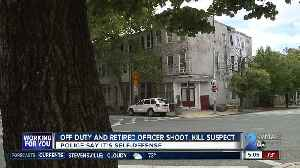 Suspect shot, killed after robbery attempt of off-duty, retired officers [Video]