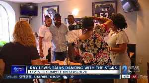 Ray Lewis ready to take the stage on Dancing with the Stars [Video]