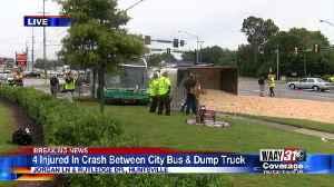 Multiple people injured in Huntsville bus, dump truck wreck [Video]