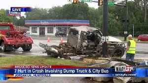 Cleanup underway after multiple people injured in Huntsville wreck [Video]