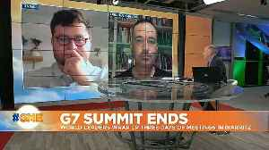 G6 plus 1: 'United States not taking enough responsibility to fight climate crisis' [Video]