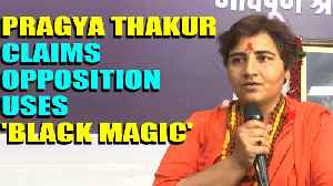 Pragya Thakur claims opposition resorting to sorcery on BJP leaders after Arun Jaitley's death [Video]