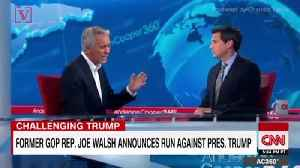 Joe Walsh Says He's Lost National Radio Show Since Announcing Bid to Challenge Trump [Video]