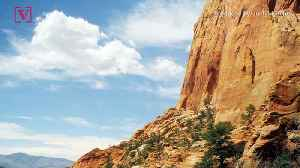 Large Piece of Rock Breaks Off a Mountain at Utah's Zion National Park Injuring 3 Visitors [Video]
