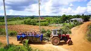 Tractor pool brings joy to children in rural Cuba [Video]