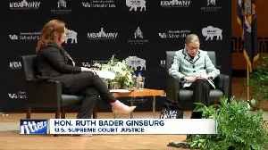 Justice Ruth Bader Ginsburg speaks at Kleinhans Music Hall [Video]