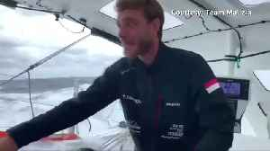 """It's very rough, very high waves"" - Thunberg posts update on zero-carbon transatlantic sail [Video]"