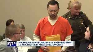 Michigan State University plays hardball in federal court with second group of Nassar survivors [Video]