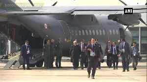 PM Narendra Modi emplanes for India from Bordeaux [Video]