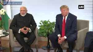 Trump congratulates PM Modi on glorious victory in LS elections [Video]