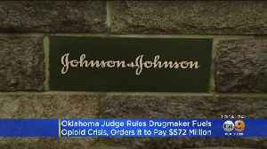 Judge Orders Johnson & Johnson To Pay Oklahoma $572 Million For Fueling State's Opioid Crisis [Video]