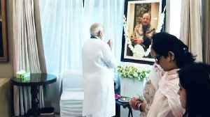 News video: PM Modi meets Jaitley's family members at their residence, pays tributes