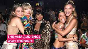 All the best VMA moments happened off stage [Video]
