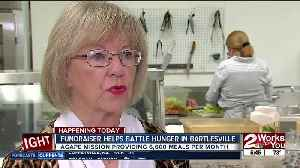 Annual food tasting event to raise money for Bartlesville's Agape Mission [Video]