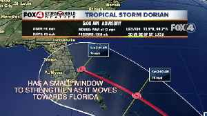 News video: Tracking Tropical Storm Dorian
