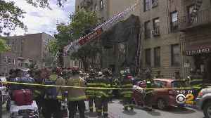1 Dead, 2 Seriously Injured After Bronx Building Partially Collapses [Video]