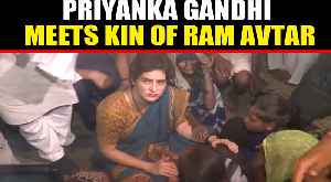 Priyanka Gandhi meets kin of Ram Avtar who allegedly died in UP Police custody | Oneindia News [Video]